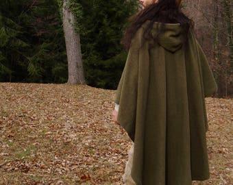 Premium Wool Lifetime Traveler's Cloak for Commission