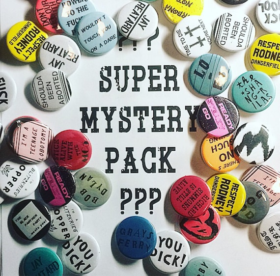 Super Mystery Pack 16 Pins!