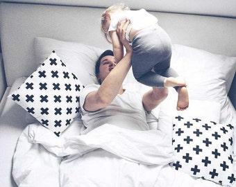 Bed pillow cases, Pillow covers, Decorative pillows, Pillow cases for kids, Monochrome Pillows, sham pillow cover, nursery decor