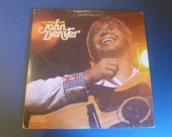 An Evening With John Denver Vinyl Record LP CPL2-0764 Double Album  RCA Records 1975