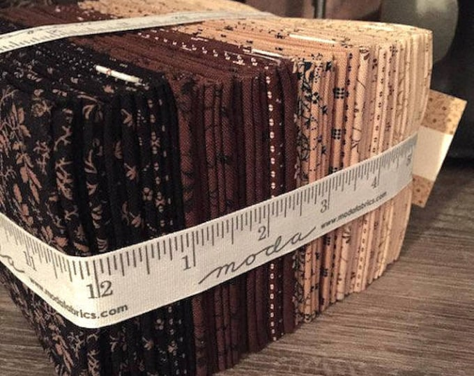 Fabric: Fat Eighth Bundle- Little Gatherings II - Collection by Primitive Gatherings for Moda Fabrics