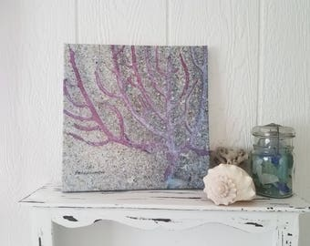 Sea Fan Coral Gallery Wrapped Canvas Wall Hanging