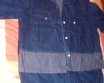 VINTAGE JACQUELINE RIU * set of 80's jeans