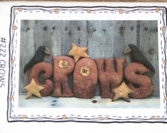 "Threadbare Primitives #222 ""Crows"""