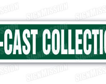 DIE-CAST COLLECTION Street Sign cars vehicles matchbox trucks gift collector