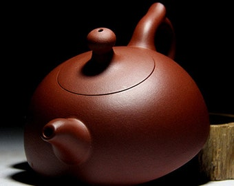 Chinese Yixing Zisha Teapot Yixing Clay Ceramic Tea Pot Half Moon Shape Design Good Gift for Him