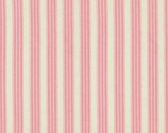 Vintage Ticking Flamingo:  Pirouette 1 Yard Cut