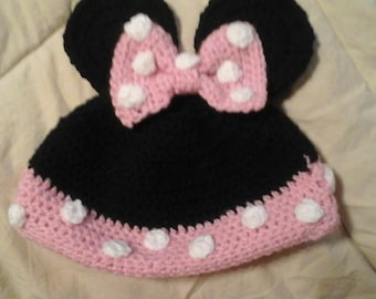 Minnie mouse beenie