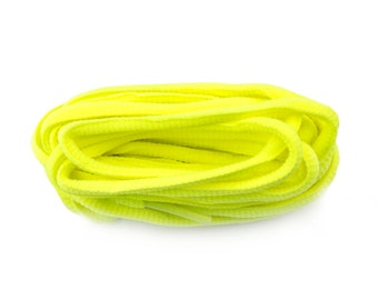 Flo Green 220cm Oval Sports Laces