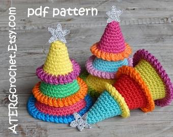 Crochet pattern Christmas tree by ATERGcrochet
