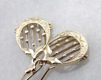 Long Gold Teardrop Dangle Earrings C9YK3L-P