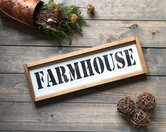 Farmhouse Sign, Grocery Sign, Bakery Sign, Pantry Sign, Sign, Farmhouse, Farmhouse Style, Wood Sign, Wooden Sign, Wall Art, Wooden Sign