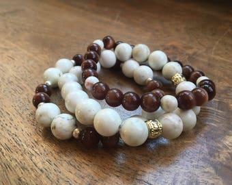 Stackable Beaded Bracelets