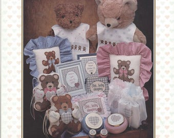 "Clearance-""Baby Traditions"" Counted Cross Stitch Booklet by Mill Hill"