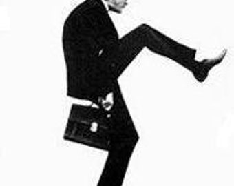 Ministry of Silly Walks Counted Cross Stitch Pattern ONE Walk Panel