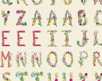 Joie de Vivre : Joyeux Alphabet by Bari J. for Art Gallery Fabric
