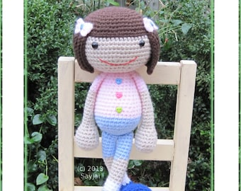 ENGLISH Instructions - Instant Download PDF Crochet Pattern - Huggy Denise