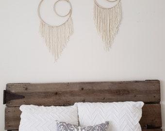 Modern Dreamcatcher | Cream Wall Hanging