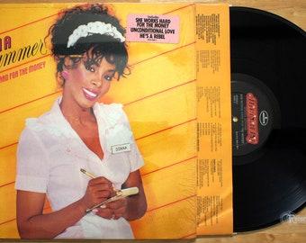 Donna Summer - She Works Hard for the Money (1983) Vinyl LP;