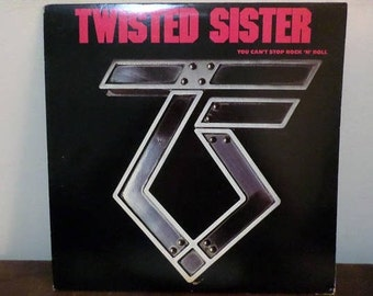 Vintage 1983 Vinyl LP Record You Can't Stop Rock N Roll Twisted Sister Near Mint Condition 13678