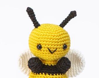 Bumble Bee Amigurumi, Amigurumi Insect Crochet, Bumble Bee Stuffed, Bumble Bee Toy, Bumble Bee Crochet, Amigurumi Bee, Bee Lovers Gift