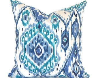 Ikat Outdoor Pillows ANY SIZE Outdoor Cushions Outdoor Pillow Covers Decorative Pillows Outdoor Cushion Covers Best Pillow OD Losani Pacific