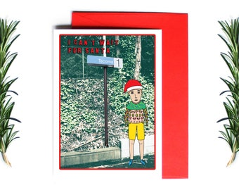 Melbourne Christmas Card - I Can't Wait For Santa Tecoma | Greeting Card | Holiday Card | Melbourne Christmas Card