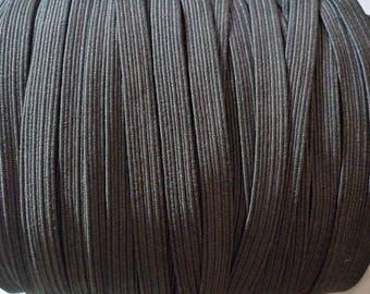 elastic, elastic flat grey elastic, elastic 6 mm, elastic by the yard