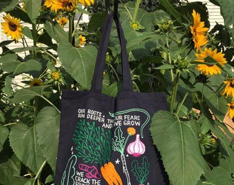 OUR ROOTS Tote