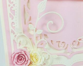 Luxury card, Wedding Handmade card, Baby Greeting Card, Handmade Greeting Card, Luxury Greeting Card, Wedding card