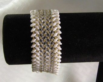 Bridal Herringbone Bracelet