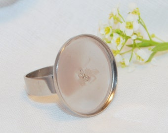 Stainless Steel Ring Base 20mm