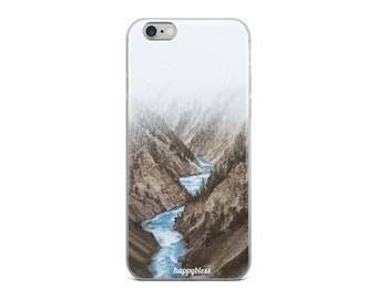 Beautiful River in the Mountains iPhone Case - iPhone 6, 6s, 6 Plus, 6 s Plus, 7, 7 Plus, 8, 8 Plus, X