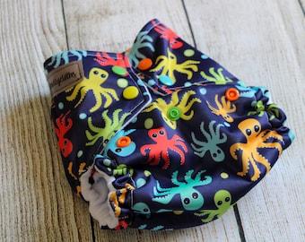 Octopus OS cloth diaper
