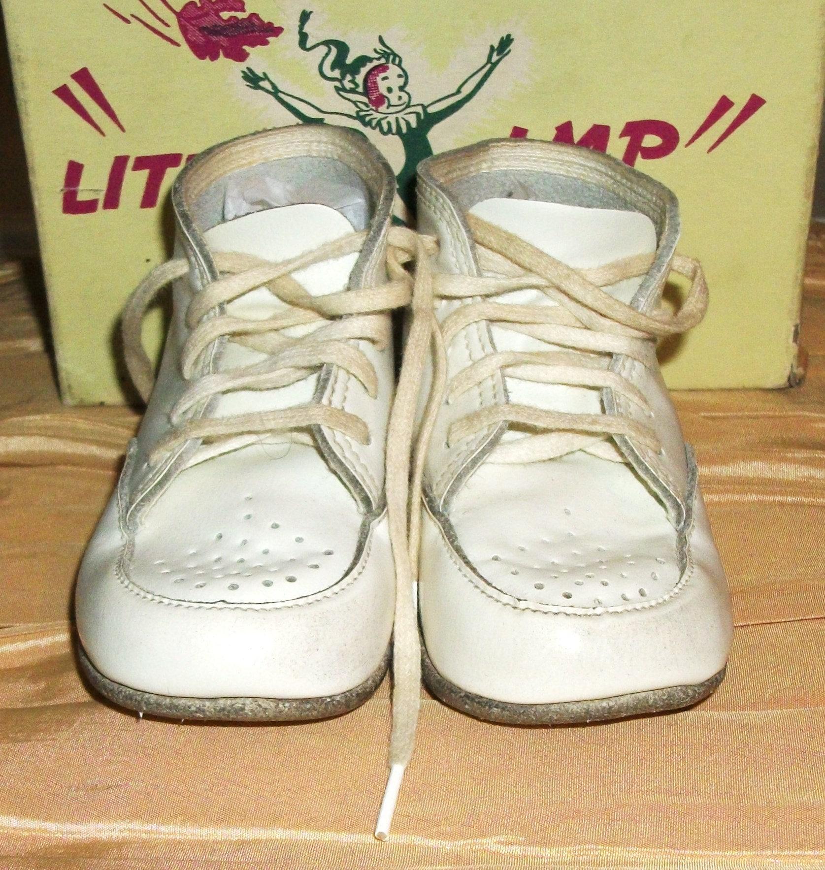 Little Imp Size 2 Hard Sole Baby Shoes Original Box