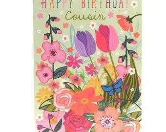 Cousin birthday card Etsy