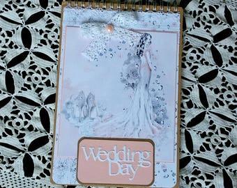 Wedding Planner Book, Wedding Journal, Wedding Journal Planner, Wedding Memory Book, Bride Memory Book, Bride Organizer Book, Wedding Diary