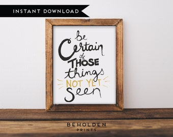Printable, Dorm Wall Art, Bible Quotes, Scripture Wall Art, Scripture Printable, Christian Printable, Hand Lettered Truth, Dorm Decor