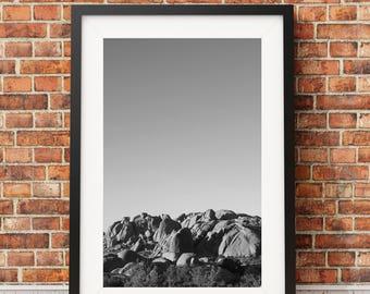 Jumbo Rocks, Palm Springs, Joshua Tree, Desert, Climbing // FRAME NOT INCLUDED
