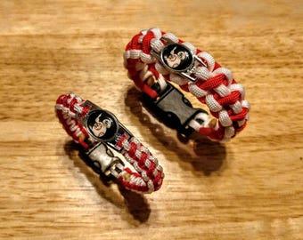 Star Wars BB-8 Inspired Paracord Bracelet