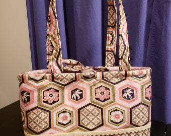 Pink Asian Inspired Purse