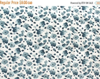 10% OFF - Blue Flowers - IKEA Vattenmynta Cotton Fabric