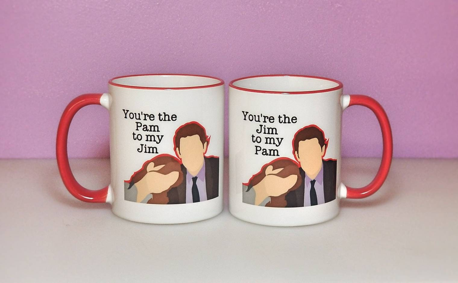 office mugs. you\u0027re the pam to my jim | office couples coffee mugs valentine\u0027s day and gifts