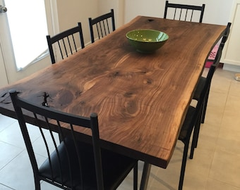 LuxEdge Furniture Co. Epoxy tables, River tables, Live edge tables, dining table, coffee tables, reclaimed tables.