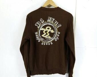 Rare !! Da Hui Hawaii North Shore Oahu Sweatshirt Crewneck XL Size #D1 f0qrKXGHC