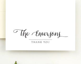 Personalized Thank You Cards for Wedding - Thank You Wedding Note Cards Personalized Note Cards - Wedding Thank You Notes - Note Card Set