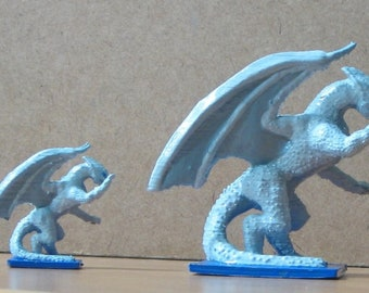 Small dragon enemy D&D mini