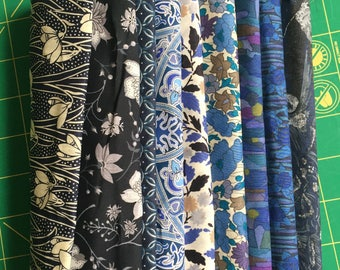 Liberty Lawn Fabric Bundle - New and Unused