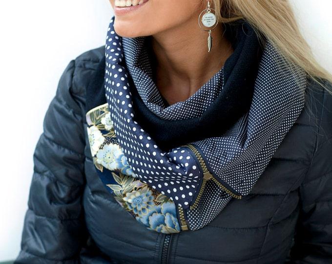 ZIP Youpla scarf: ANAIS ZIP4