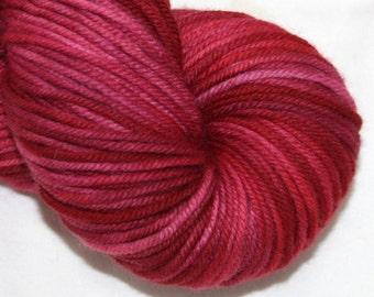 Raspberry Swirl--Fat Cat--SW merino DK